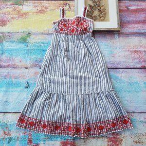 kate spade Dresses - Kate Spade Broome St Embroidered Cotton Midi Dress